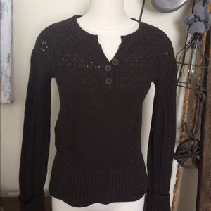 DKNY Jeans Knit Sweater Blouse